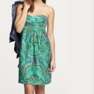 NWT J.Crew Casbah Silk Dress, Sz 8P